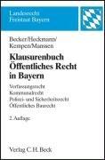 9783406575440: Klausurenbuch +a-uffentliches Recht in Bayern