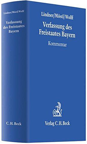 9783406575952: Verfassung des Freistaates Bayern