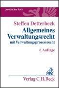 9783406575990: Allgemeines Verwaltungsrecht: mit Verwaltungsprozessrecht