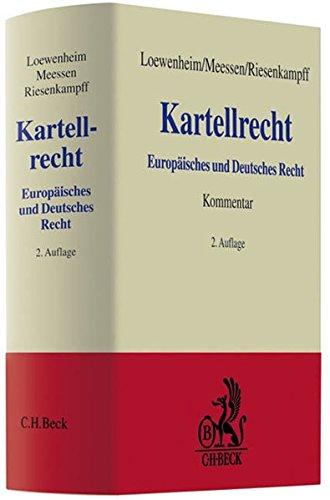 Kartellrecht.: LOEWENHEIM / MEESSEN