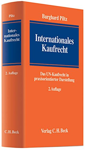 Internationales Kaufrecht: Burghard Piltz