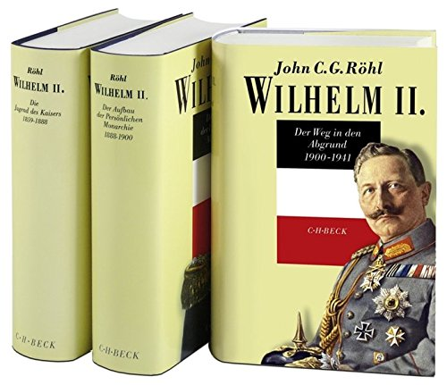 9783406578731: Wilhelm II. Band 1 - 3