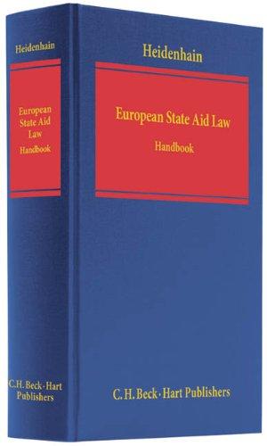 European State Aid Law: Martin Heidenhain