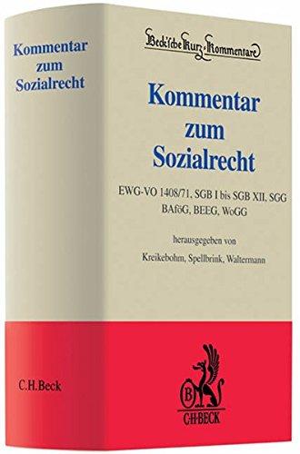 Kommentar zum Sozialrecht: EWG-VO 1408/71, SGB I: Ralf Kreikebohm (Herausgeber,