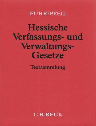 9783406580321: Hessische Verfassungs- und Verwaltungsgesetze 86. Ergänzungslieferung: Rechtsstand: 20. Oktober 2008