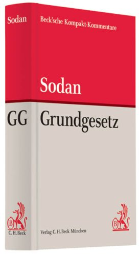 9783406580703: Grundgesetz: Rechtsstand: Voraussichtlich Juni 2008