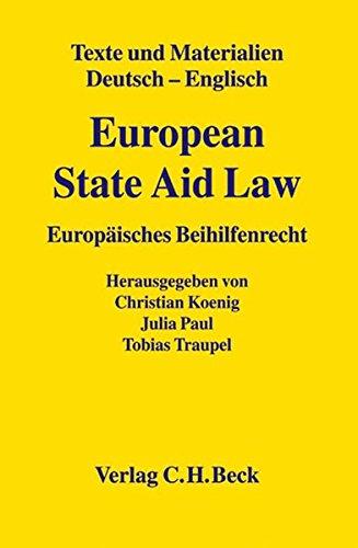 European State Aid Law: Christian König