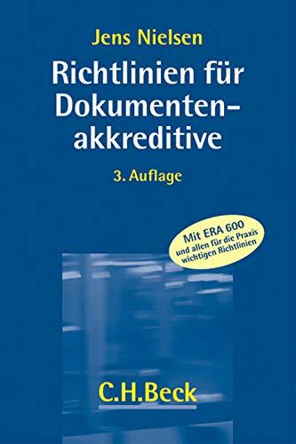 Richtlinien für Dokumentenakkreditive: Jens Nielsen