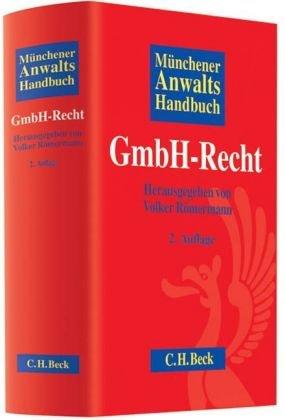 9783406581298: Münchener Anwaltshandbuch GmbH-Recht