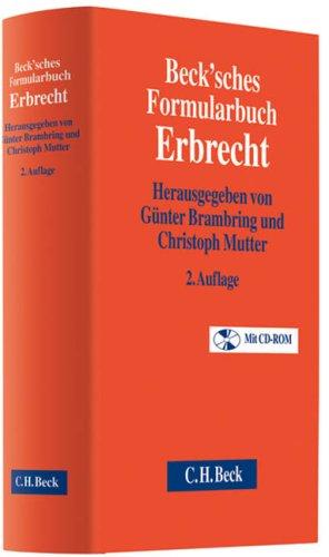 9783406583377: Beck'sches Formularbuch Erbrecht