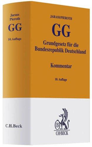 9783406583759: Grundgesetz für die Bundesrepublik Deutschland