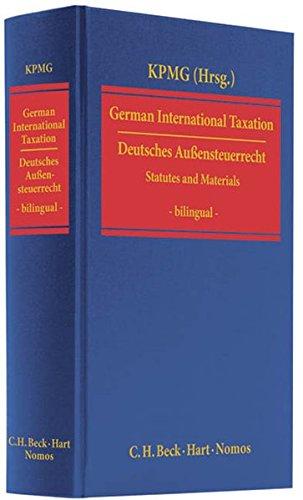 Deutsches Außensteuerrecht / German International Taxation: Martin Lenz