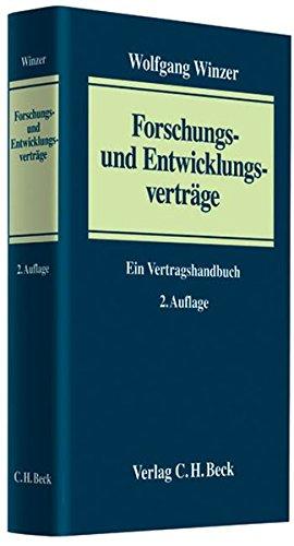 Forschungs- und Entwicklungsverträge: Wolfgang Winzer
