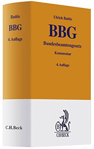 Bundesbeamtengesetz: Ulrich Battis