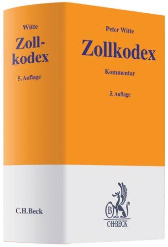9783406587191: Zollkodex