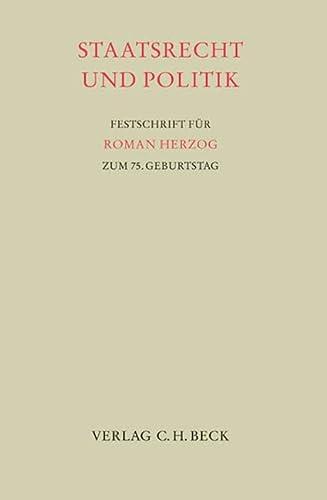 Staatsrecht und Politik: Matthias Herdegen