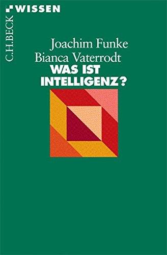 9783406590054: Was ist Intelligenz?