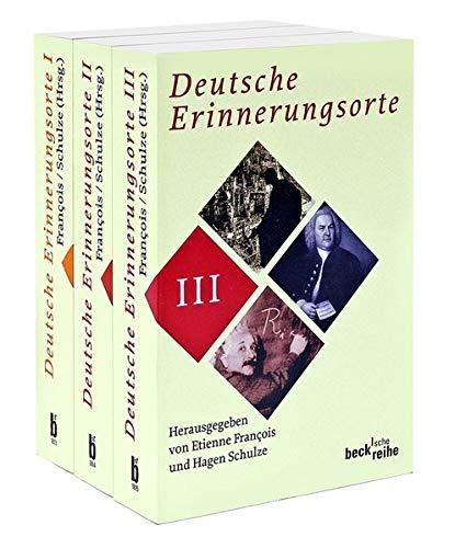 9783406591440: Deutsche Erinnerungsorte. 3 B�nde