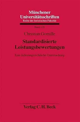 Standardisierte Leistungsbewertungen: Christian Gomille