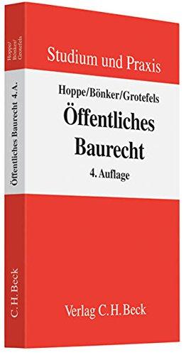 Öffentliches Baurecht: Werner Hoppe