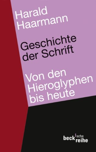 9783406592188: Geschichte der Schrift