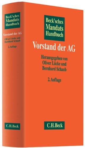 Beck'sches Mandatshandbuch Vorstand der AG: Oliver Lücke