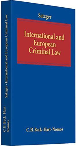 9783406594786: International and European Criminal Law