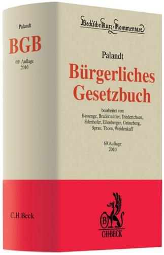 9783406594885: Bürgerliches Gesetzbuch