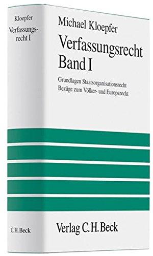 Verfassungsrecht I: Michael Kloepfer