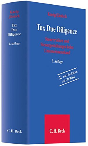 9783406597640: Tax Due Diligence