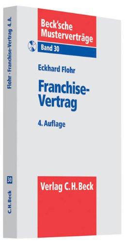 Franchise-Vertrag: Eckhard Flohr