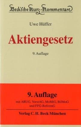 9783406600777: Aktiengesetz