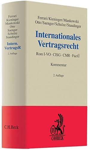 Internationales Vertragsrecht: Franco Ferrari