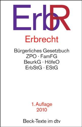 9783406601118: Erbrecht - ErbR