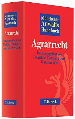 9783406602078: Münchener Anwaltshandbuch Agrarrecht