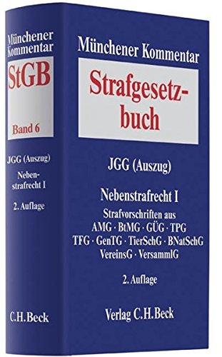 9783406602962: Münchener Kommentar zum Strafgesetzbuch Bd. 6: JGG (Auszug), Nebenstrafrecht I