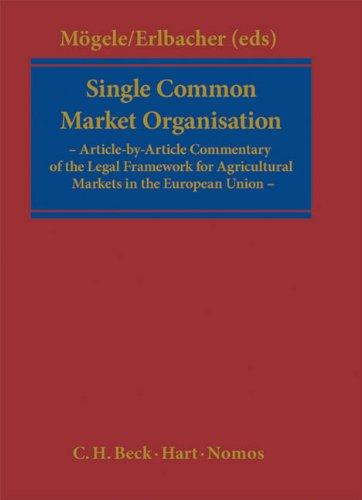 9783406603181: Single CMO Regulation