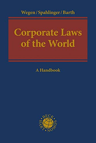 9783406603228: Corporate Laws of the World
