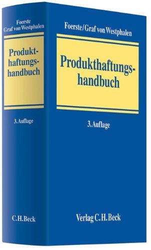 Produkthaftungshandbuch: Ulrich Foerste