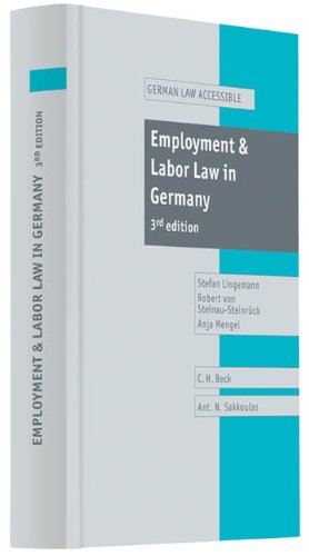 9783406605512: Employment and Labor Law in Germany