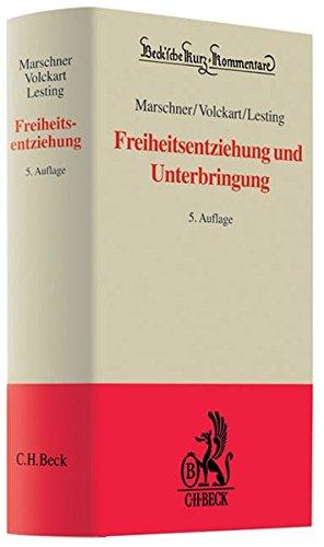 Freiheitsentziehung und Unterbringung: Rolf Marschner