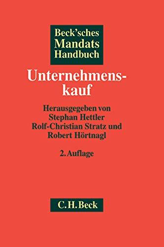 Beck'sches Mandatshandbuch Unternehmenskauf: Stephan Hettler