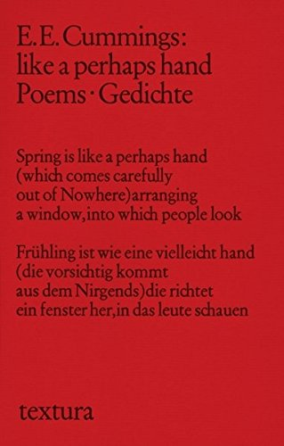 9783406607202: Like a perhaps hand: Poems. Gedichte