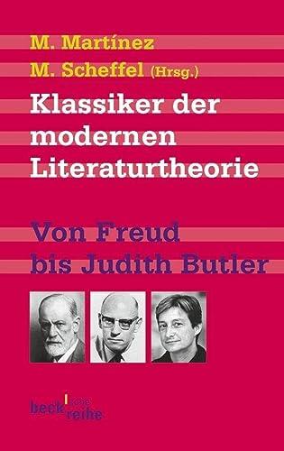 9783406608292: Klassiker der modernen Literaturtheorie