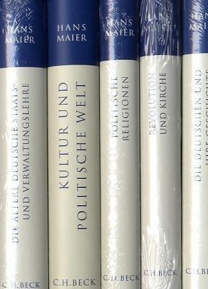 9783406608575: Gesammelte Schriften Gesamtwerk in 5 Bänden