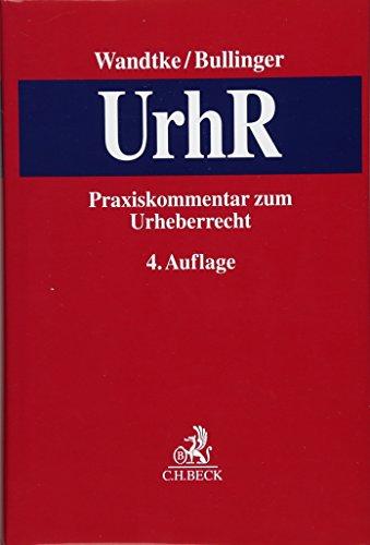 Praxiskommentar zum Urheberrecht: Artur-Axel Wandtke