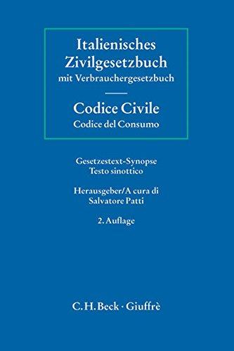 Italienisches Zivilgesetzbuch / Codice Civile: Salvatore Patti