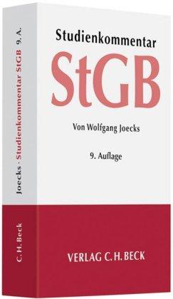 Strafgesetzbuch - Studienkommentar - Joecks, Wolfgang