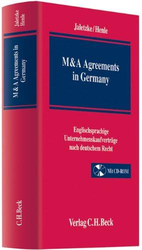 Acquisition Agreements in Germany: Matthias Jaletzke