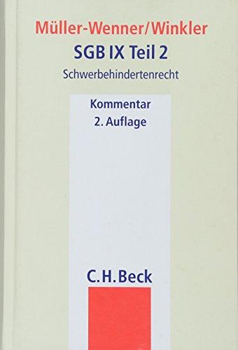 SGB IX Teil 2: Dorothee Müller-Wenner